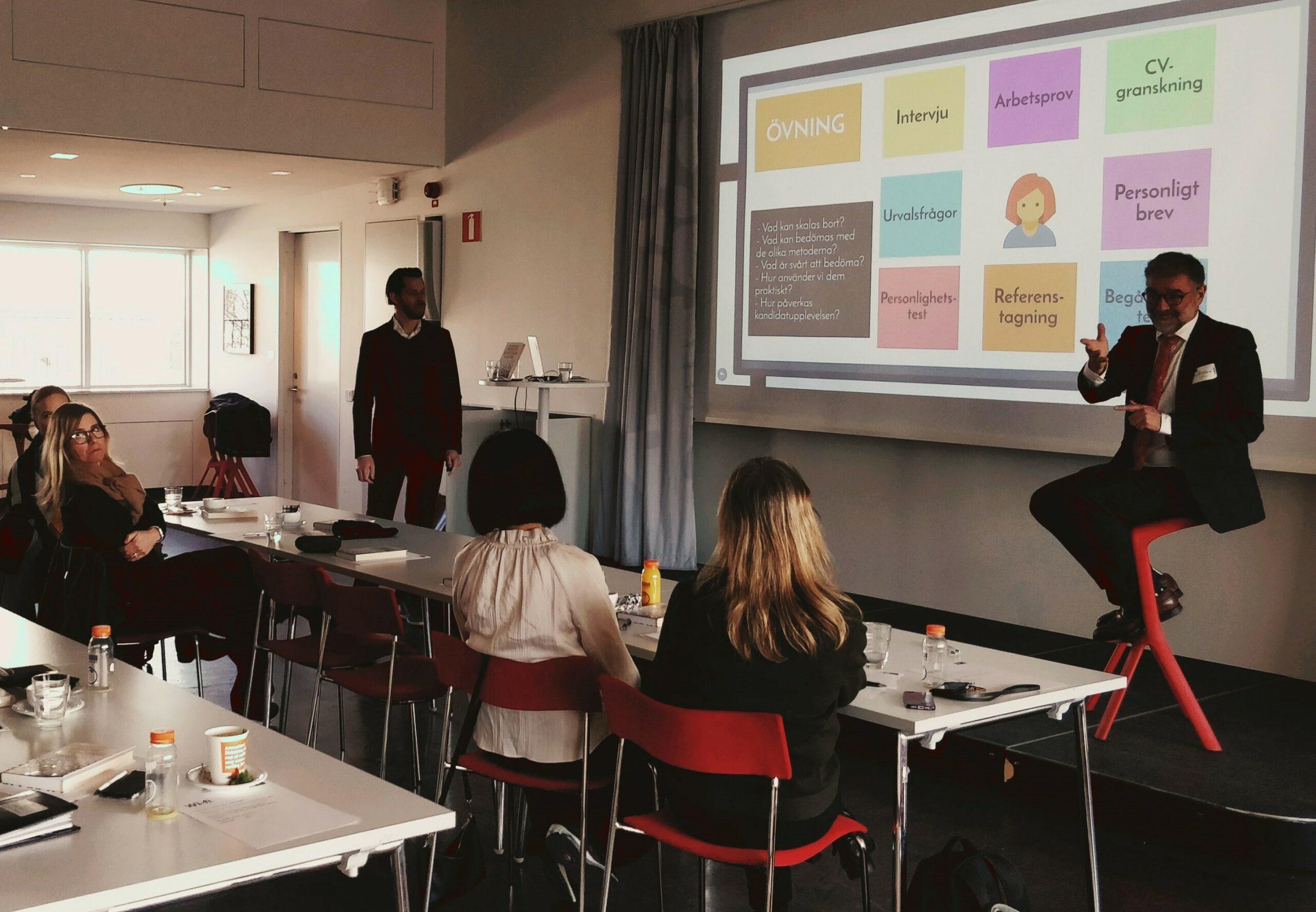Workshop series on Innovative Recruitment