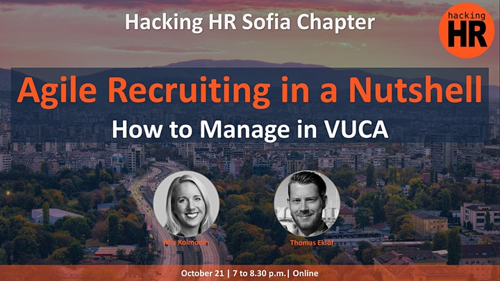 Webinar on Agile Recruitment with Hacking HR
